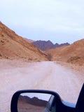 Montagnes autour Image libre de droits