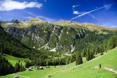 Montagnes autrichiennes Photo libre de droits