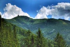 montagnes beskydy photographie stock libre de droits