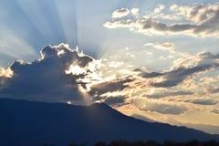 Montagnes blanches Photo libre de droits