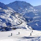 Montagnes blanches Images libres de droits