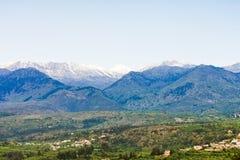 Montagnes blanches de Crète Image libre de droits