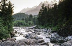 Montagnes blanches, New Hampshire la rivière Snake Photographie stock libre de droits