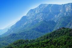 Montagnes bleues Image libre de droits
