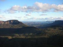 Montagnes bleues Photos libres de droits