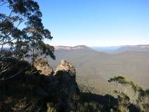 Montagnes bleues Sydney NSW Photo stock