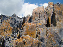 Montagnes Bornéo. Photos libres de droits