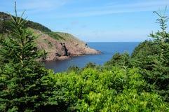Montagnes bretonnes de cap - la Nouvelle-Écosse Photographie stock libre de droits