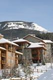montagnes canadiennes de vacances Images stock