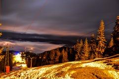 Montagnes carpathiennes Photos stock