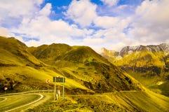 Montagnes carpathiennes Photos libres de droits