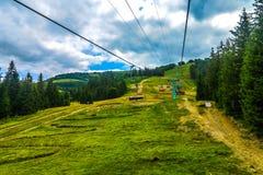 Montagnes carpathiennes ukrainiennes 11 image libre de droits
