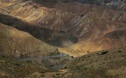 Montagnes colorées Images stock