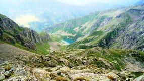 montagnes corses de montagne de lac de laque du creno de France de la Corse Photographie stock