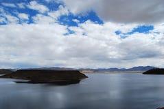 montagnes corses de montagne de lac de laque du creno de France de la Corse Photos libres de droits