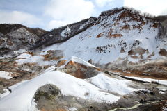 Montagnes couvertes de neige photos libres de droits