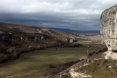 Montagnes criméennes Image libre de droits