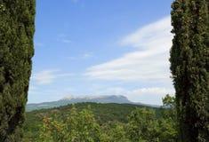 Montagnes criméennes Images libres de droits