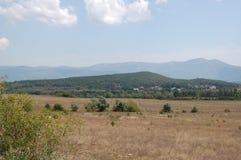 Montagnes criméennes Image stock