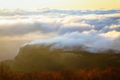 Montagnes criméennes ukrainiennes Photos libres de droits