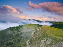Montagnes d'été Images stock
