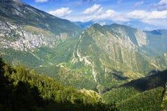 Montagnes d'été Photos libres de droits