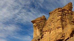 Montagnes d'Akakus, désert de Sahara, Libye Image libre de droits