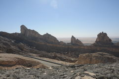 Montagnes d'Al Ain Photos stock