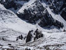 Montagnes d'Alaarcha images libres de droits