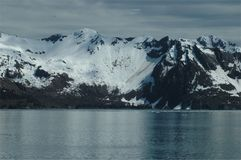 Montagnes d'Alaska Photographie stock libre de droits
