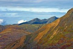 Montagnes d'Alaska Images libres de droits