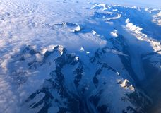 Montagnes d'Alaska Photos stock