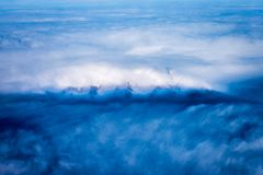 Montagnes d'Alaska photo libre de droits
