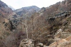 Montagnes d'Alborz Images libres de droits