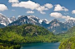 Montagnes d'Alpes Photos libres de droits