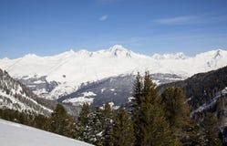 Montagnes d'Alpes Photographie stock libre de droits