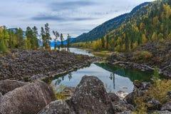 Montagnes d'Altai Photos stock