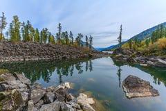 Montagnes d'Altai Photographie stock libre de droits