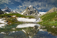 Montagnes d'Altai Images stock