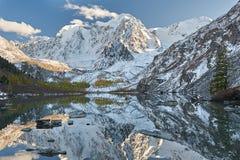 Montagnes d'Altai, Russie, Sibérie Image libre de droits
