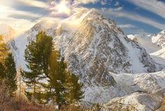 Montagnes d'Altai, Russie, Sibérie Image stock