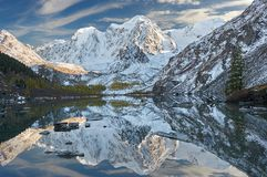 Montagnes d'Altai, Russie, Sibérie Photographie stock