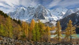 Montagnes d'Altai, Russie, Sibérie Photos libres de droits
