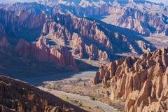 Montagnes d'Altiplano photographie stock libre de droits