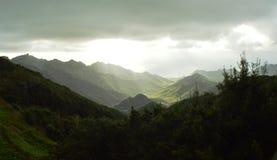 Montagnes d'Anaga Photos stock