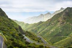 Montagnes d'Anaga, Taganana, Ténérife Photos stock