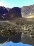 Montagnes d'Arcitc Images libres de droits