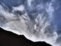 Montagnes d'atlas Photographie stock