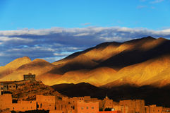 Montagnes d'atlas Image stock