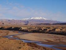 Montagnes d'atlas Photos libres de droits
